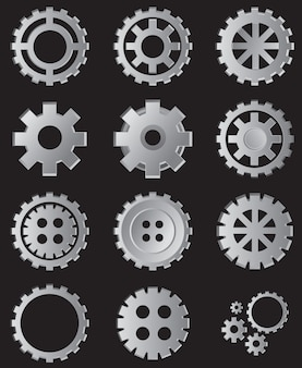 Collection d'illustrations de vitesse