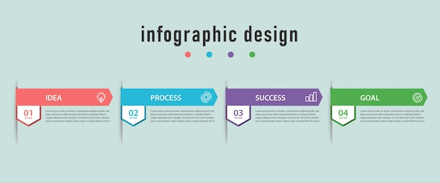 Collection d'infographie