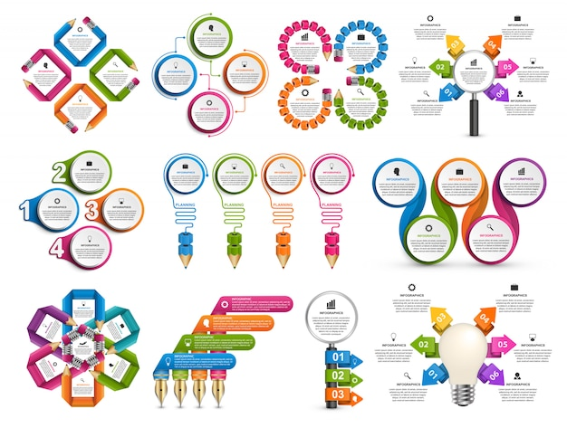 Collection infographie.