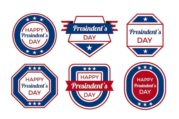Collection d'insignes de la fête du président