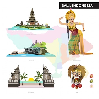 Collection de jeu de bali