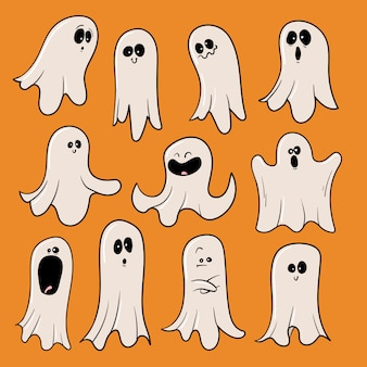 Collection de jeux halloween ghosts