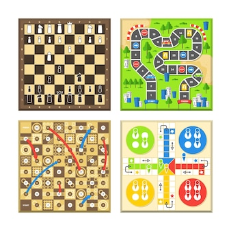 Collection de jeux de société