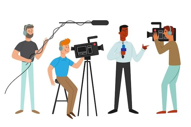 Collection de journalistes