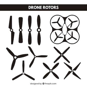 Collection de lame drone