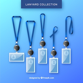 Collection de lanières avec un design réaliste