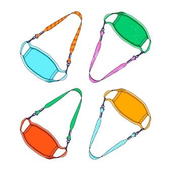 Collection de lanières de masque de mode