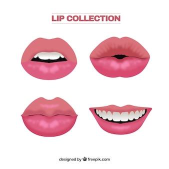 Collection de lèvres