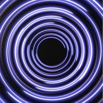 Collection de lignes de demi-teintes bleu clair lignes vectorielles bleues radiales de vitesse illustration vectorielle