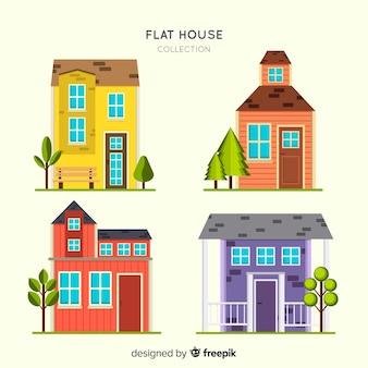 Collection de logements plats