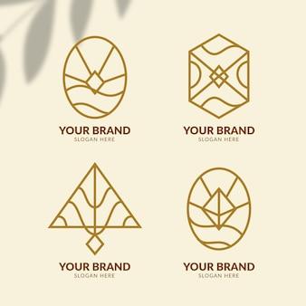 Collection de logo d'accessoires de mode