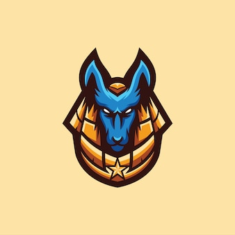 Collection de logo anubis