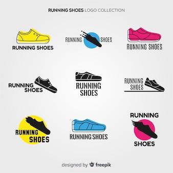 Collection de logo de chaussure