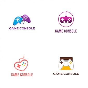 Collection de logo de console de jeu
