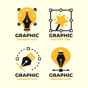 Collection de logo de graphiste