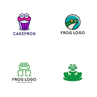 Collection logo grenouille