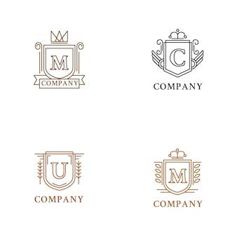 Collection de logo héraldique