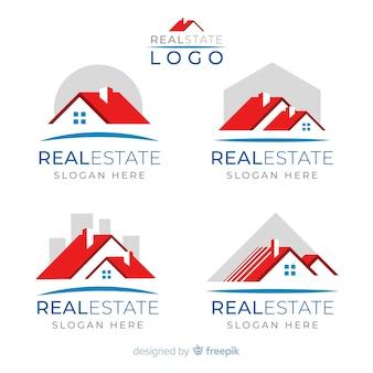 Collection de logo immobilier