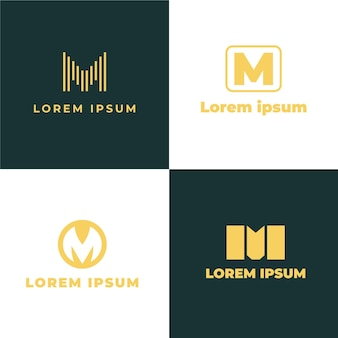 Collection de logo m