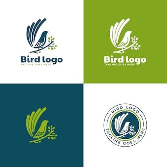 Collection de logo d'oiseau