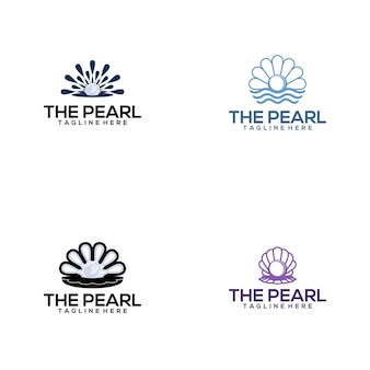 Collection de logo de perle