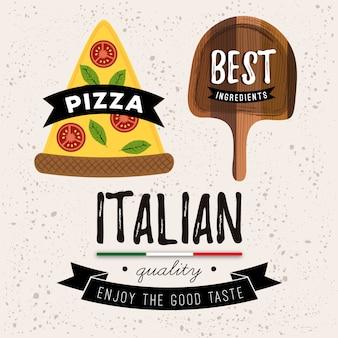 Collection de logo de restaurant italien