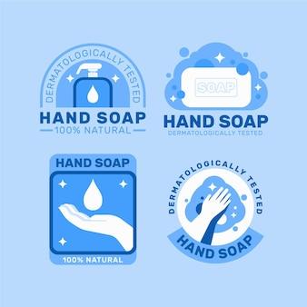 Collection de logo de savon