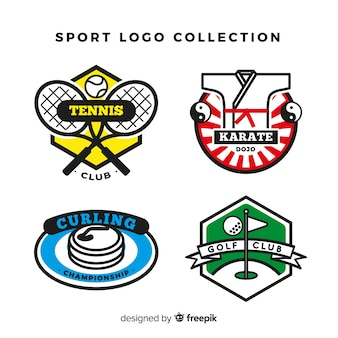 Collection de logo sport moderne