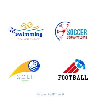 Collection de logo sport moderne