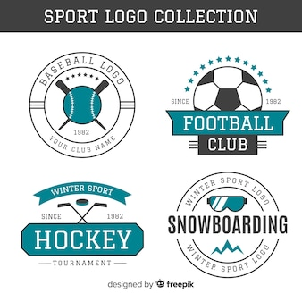 Collection de logo de sport