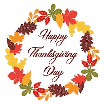 Collection de logo de thanksgiving