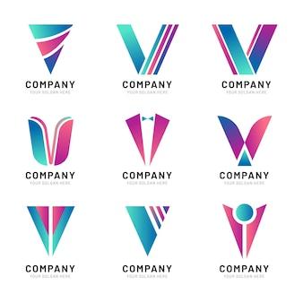Collection de logo v