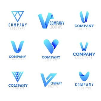 Collection de logo v
