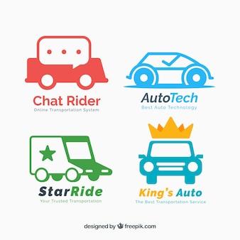 Collection de logo de voiture