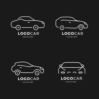 Collection de logo de voiture