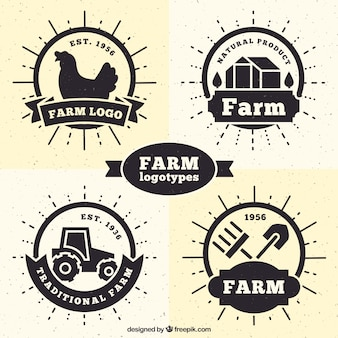 Collection de logos agricoles