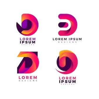 Collection de logos dégradés