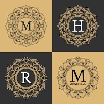 Collection de logos élégants