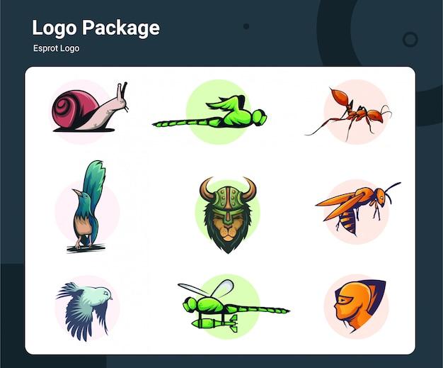 Collection de logos esport