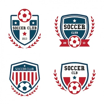Collection de logos de football