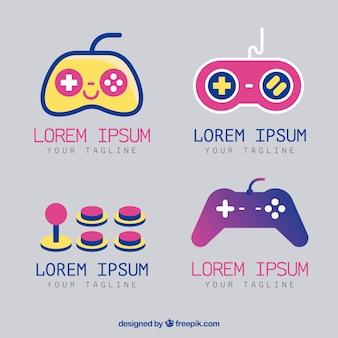 Collection de logos de jeu