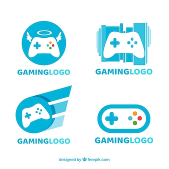 Collection de logos de jeu