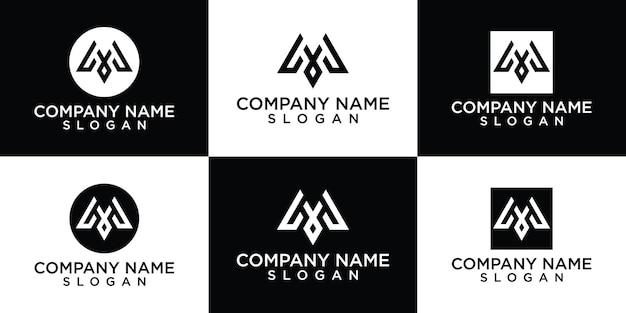 Collection de logos lettre m gratuit