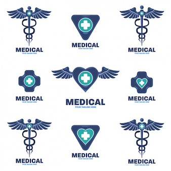 Collection de logos médicaux