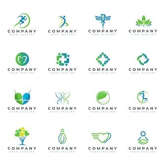 Collection de logos médicaux