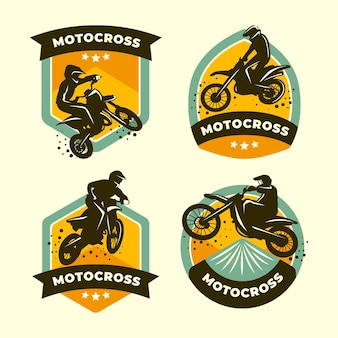 Collection de logos de motocross