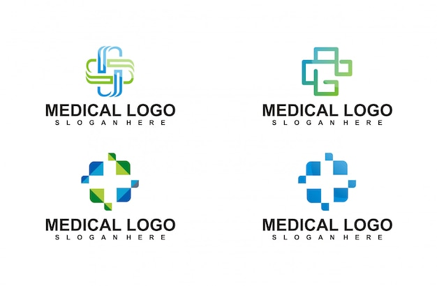 Collection de logos de service de médecine dentaire