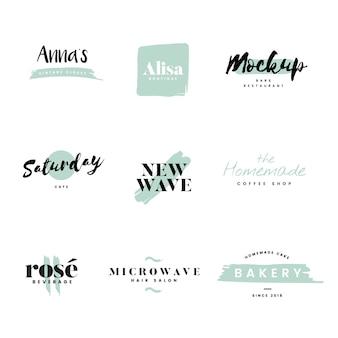 Collection de logos et de vecteur de marque