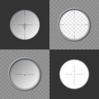 Collection de lunette de visée sniper