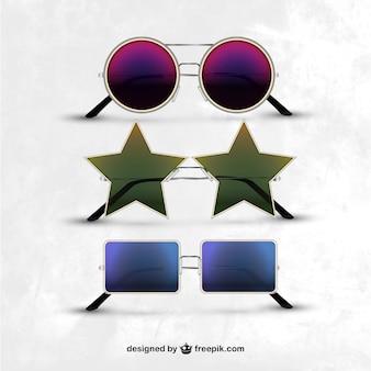 Collection de lunettes de soleil modernes